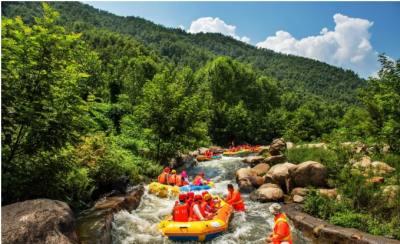 河南漂流圣地,这个夏天,一起来尖叫湿身!